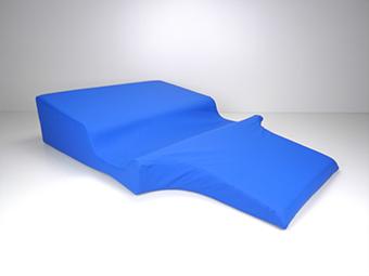 Seitenlagerungskissen mit Armmulde