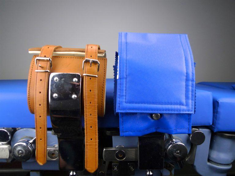Umrüstung von Kloben mit Lederhandfessel