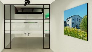 Showroom-Eingang